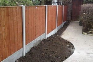 wood panel fencing chelmsford